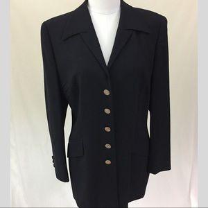 Vtg Escada Margaretha Ley Blazer Jacket 40